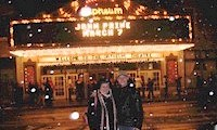 Donna and Eric with John Prine marquee
