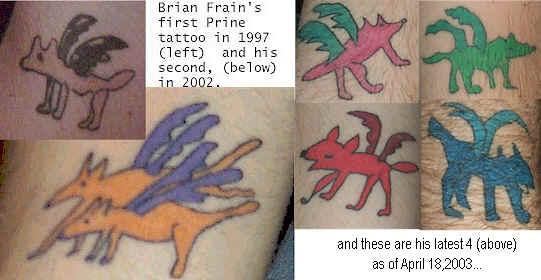 Tattoos ala John Prine Quasimoto Tattoo