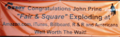 Congratulations John Prine on Fair & Square