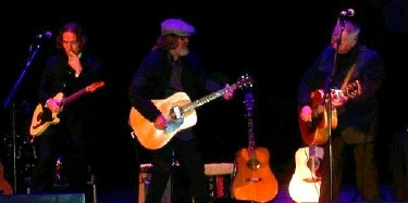 Jason Wilber, Peter Case and John Prine on Paradise in Cedar Rapids Iowa Sep 14, 2013